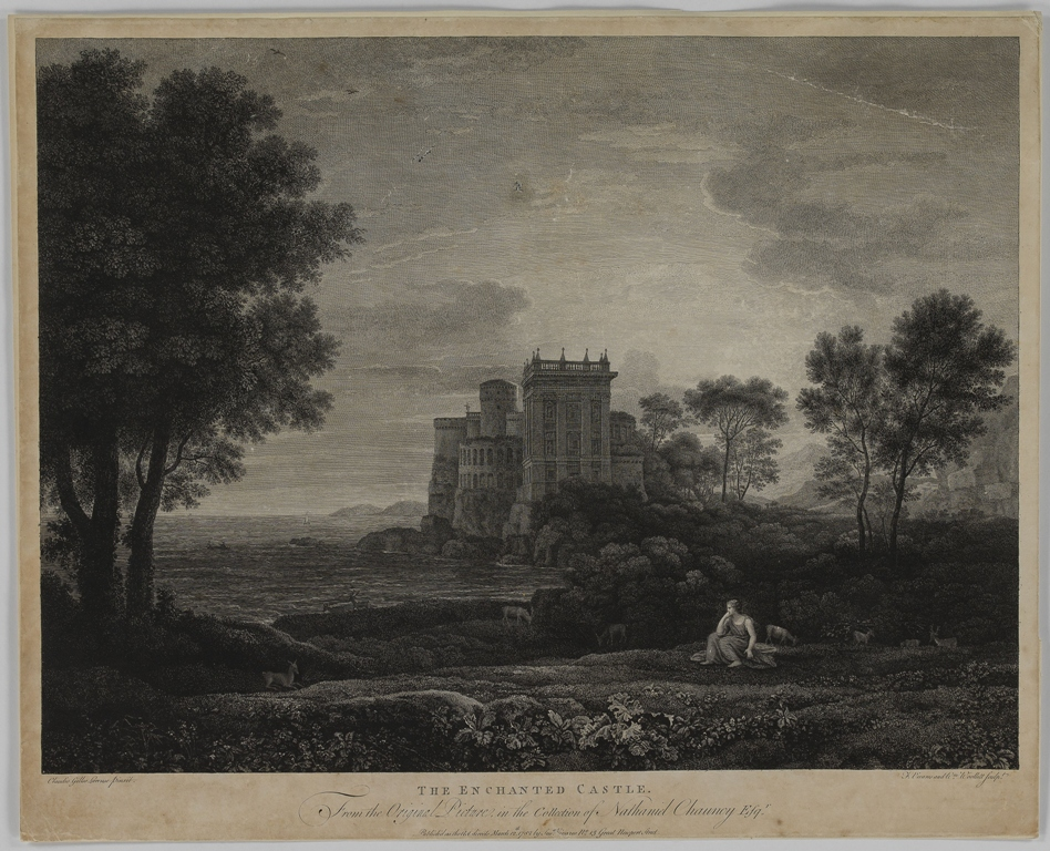 William Woollett, The Enchanted Castle, burin et eau-forte, 1782, © MAH, inv. E 2014-0828