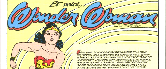 Wonderwoman - All star comics - Décembre 1941