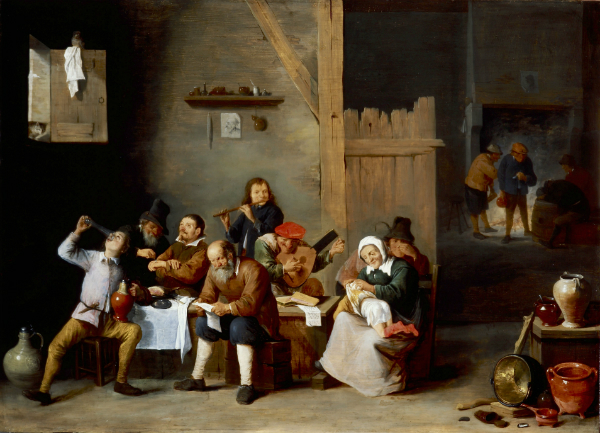 Entourage de David Teniers