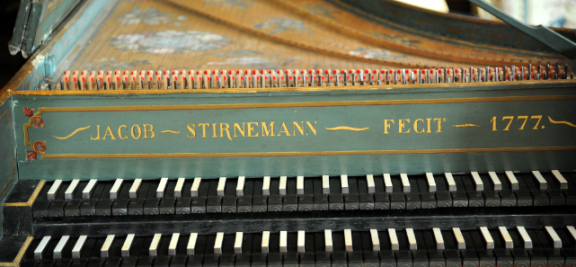Le clavecin de Jacob Stirnemann  ©MAH, photo : B. Jacot-Descombes